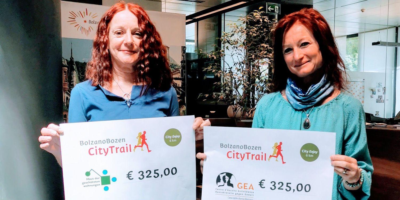 Correre per beneficenza | Ökoinstitut Südtirol
